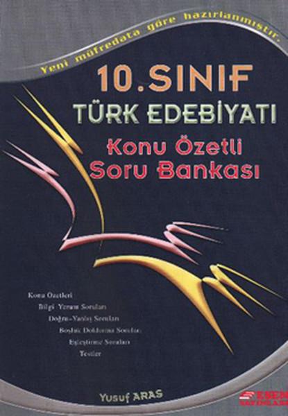 Esen 10. Sınıf Türk Edebiyatı Konu Özetli Soru Bankası.pdf