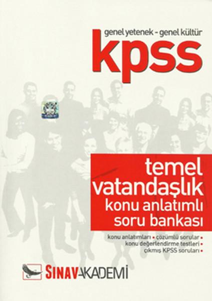 Sınav KPSS Genel Yetenek-Genel Kültür Temel Vatandaşlık Anlatımlı Soru Bankası.pdf