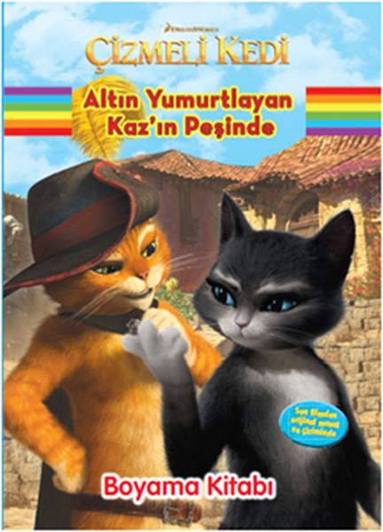 Çizmeli Kedi Altın Yumurtlayan Kazın Peşinde Boyama Kitabı.pdf