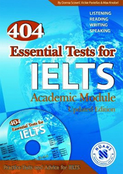 404 Essential Tests for IELTS - Academic Module with MP3 Audio CD