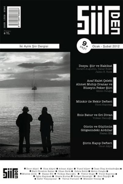 Şiirden İki Aylık Şiir Dergisi - Sayı: 9 - Ocak-Şubat 2012.pdf