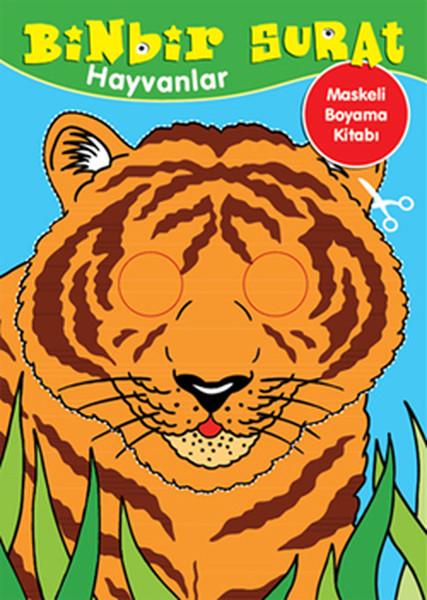 Binbir Surat Hayvanlar Maskeli Boyama Kitabı.pdf