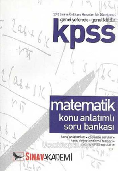 Sınav Kpss Matematik Konu Anlatımlı Soru Bankası Önlisans.pdf