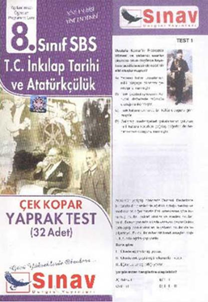 8. Sınıf Sbs T.c İnkilap Tarihi ve Atatürkçülük Çek Kopar Yaprak Test.pdf