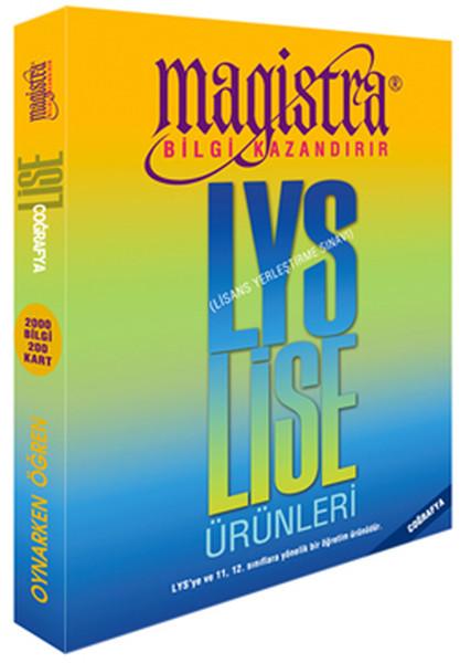 Magistra Coğrafya - Lise(9, 10,11, 12. Sınıflar) LYS Ürünleri.pdf