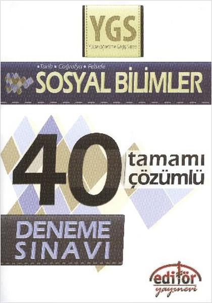 Ygs Sosyal Bilimler Tamamı Çözümlü 40 Deneme Sınavı.pdf