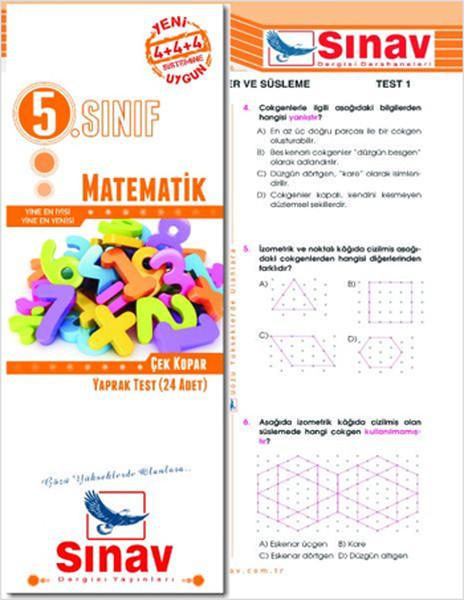 Sınav 5.Sınıf Matematik Yaprak Test.pdf