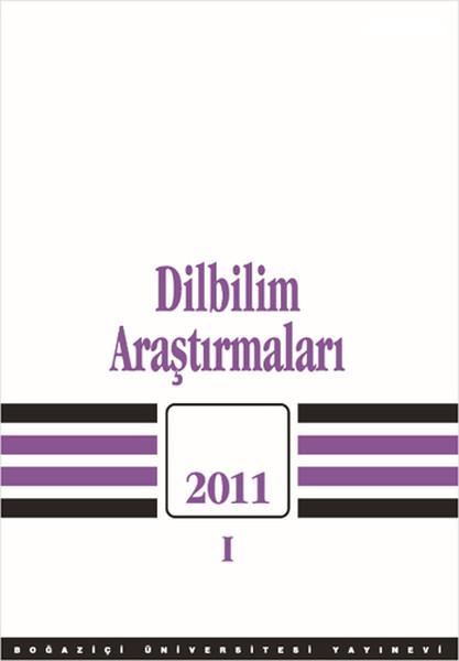 Dilbilim Araştırmaları 2011 - 1.pdf