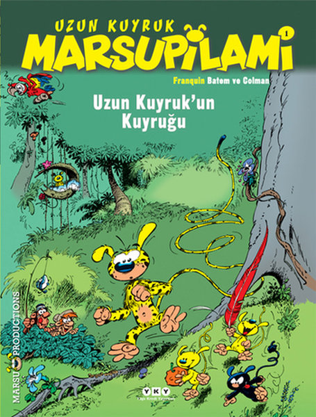 Uzun Kuyruk Marsupilami 1 Uzun Kuyrukun Kuyruğu Kitap Müzik