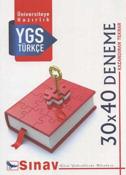 Sınav YGS Türkçe 30X40 Deneme.pdf