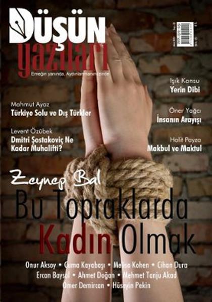 Düşün Yazıları Dergisi Sayı: 22.pdf
