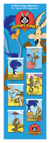 IF Looney Tunes Mini Page Markers - Road Runner & Wile E. Coyote 92505