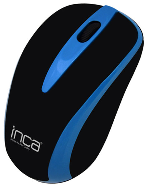Inca IWM-221RSMV Track Red Sensör Mavi Kablosuz Nano Alıcılı Mouse