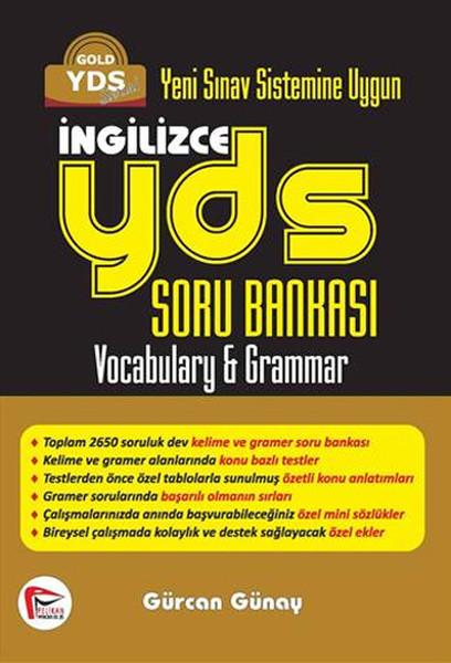 Yeni Sınav Sistemine Uygun Pelikan YDS İngilizce Soru Bankası.pdf