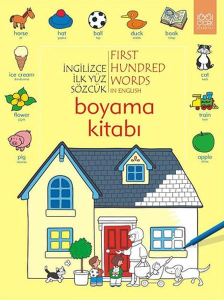 İngilizce İlk Yüz Sözcük Boyama