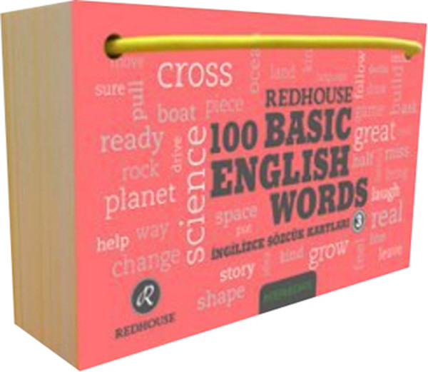 Redhouse 100 Basic English Words 3.pdf