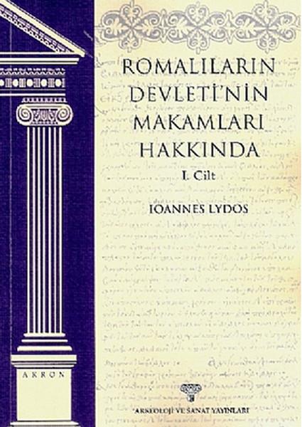 Romalıların Devletinin Makamları Hakkında I.Cilt.pdf