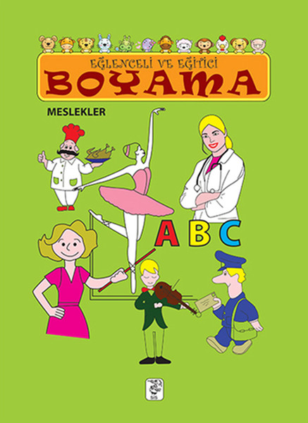 Eğlenceli ve Eğitici Boyama - Meslekler.pdf