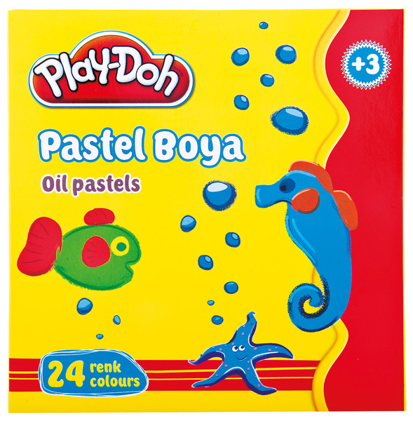 Play-Doh 24 Renk Pastel Boya PLAY-PA004