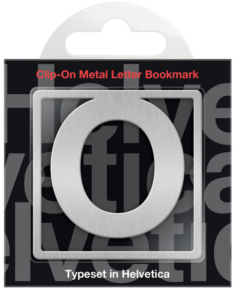 IF 92915 Helvetica Clip-On Bookmarks - Letter O/Kitap Ayracı
