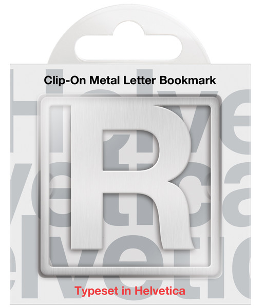 IF 92918 Helvetica Clip-On Bookmarks - Letter R/Kitap Ayraci