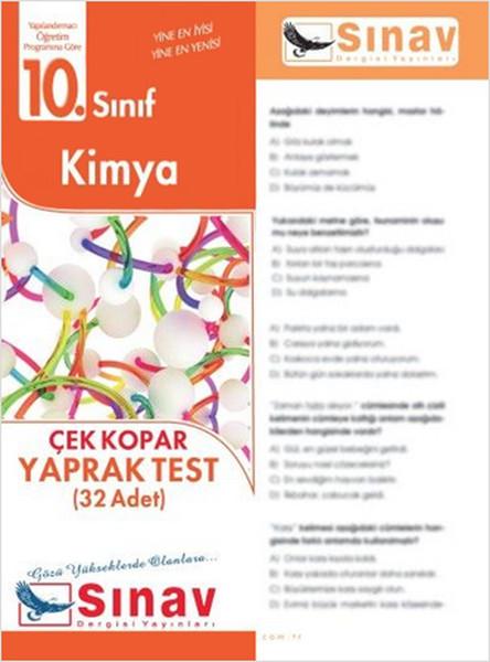 10.Sınıf Kimya Yaprak Test (32 Test).pdf