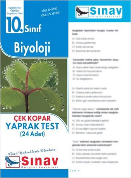 10.Sınıf Biyoloji Yaprak Test (24 Test).pdf