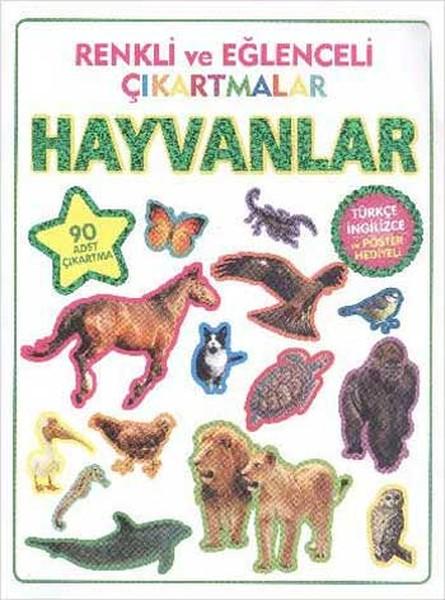 Renkli ve Eğlenceli Çıkartmalar - Hayvanlar.pdf