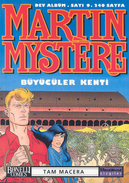 Martin Mystere Dev Albüm Sayı: 9 Büyücüler Kenti.pdf