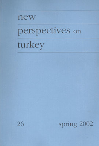 New Perspectives On Turkey No: 26