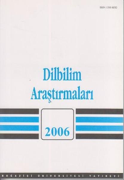 Dilbilim Araştırmaları 2006.pdf