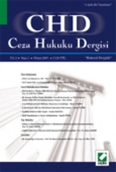 CHD Ceza Hukuku Dergisi Yıl: 1 Sayı: 2.pdf