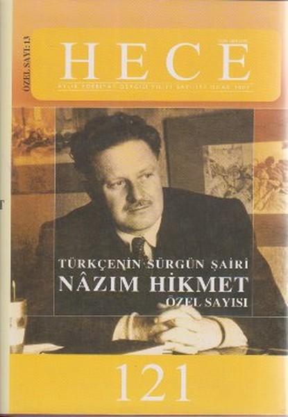 Hece Aylık Edebiyat Dergisi Nazım Hikmet Özel Sayısı: 121.pdf