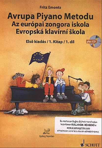 Avrupa Piyano Metodu - Az Europai Zongora İskola - Evropska Klavirni Skola.pdf