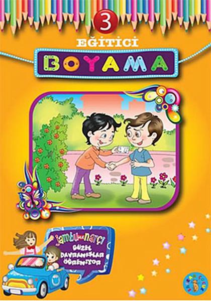 Eğitici Boyama - 3 Jambu ile Narçi Güzel Davranışlar Öğreniyor.pdf