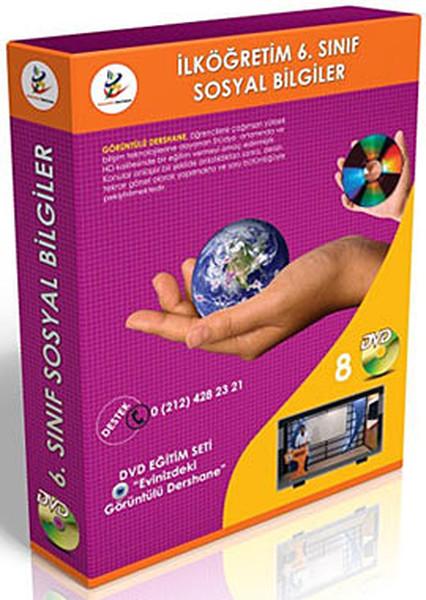 İlköğretim 6. Sınıf Sosyal Bilgiler Görüntülü DVD Seti (8 DVD).pdf