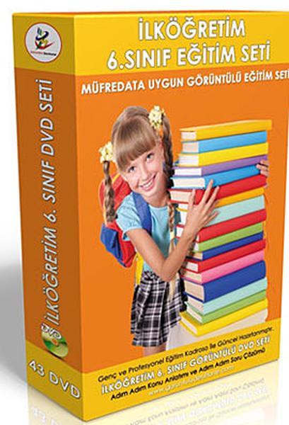 İlköğretim 6. Sınıf Tüm Dersler Görüntülü DVD Seti (43 DVD).pdf
