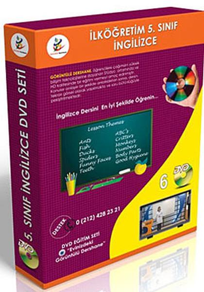 İlköğretim 5. Sınıf İngilizce Görüntülü DVD Seti(6 DVD).pdf