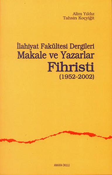 İlahiyat Fakültesi Dergileri Makale ve Yazarlar Fihristi.pdf