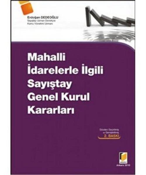Mahalli İdarelerle İlgili Sayıştay Genel Kurul Kararları.pdf