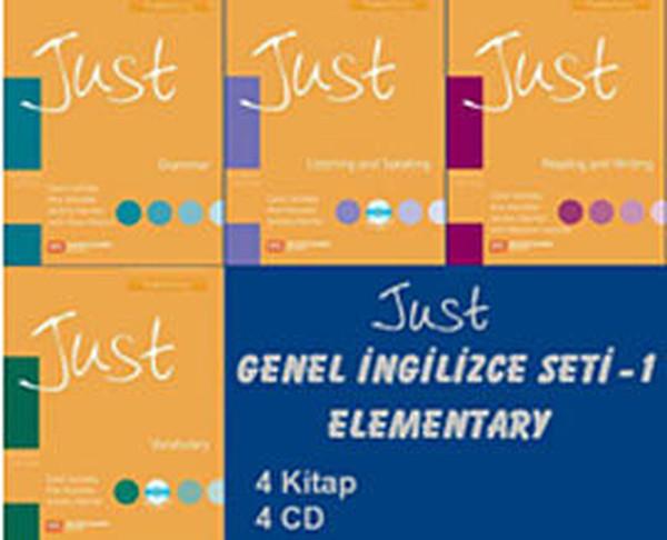 Just Genel İngilizce Seti 1 Elementary (4 Kitap + 4 CD).pdf
