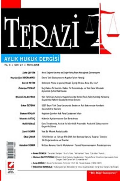 Terazi Aylık Hukuk Dergisi Yıl: 3 Sayı: 21 Mayıs 2008.pdf