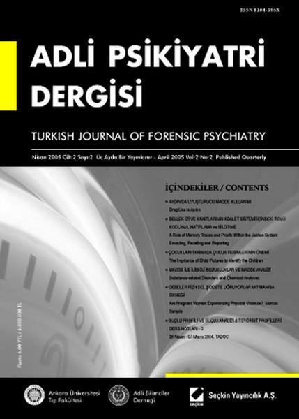 Adli Psikiyatri Dergisi - Cilt:2 Sayı:2 Nisan 2005.pdf