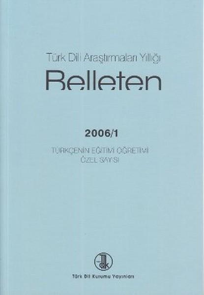 Türk Dili Araştırmaları Yıllığı - Belleten 2006 / 1.pdf