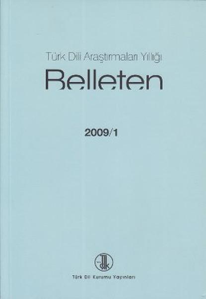 Belleten 2009/1-Türk Dili Araştırma.pdf