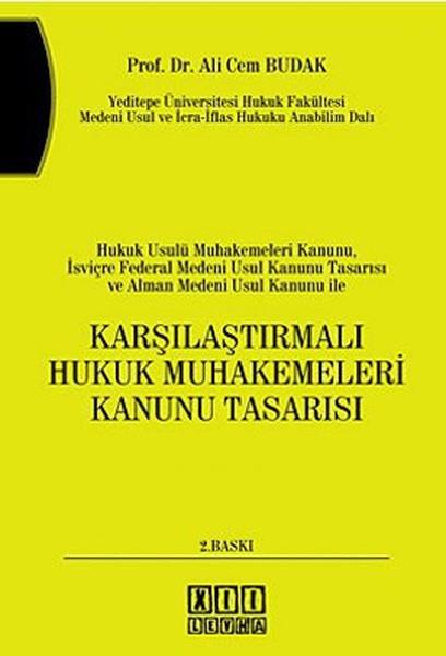 Karşılaştırmalı Hukuk Muhakemeleri Kanunu Tasarısı.pdf
