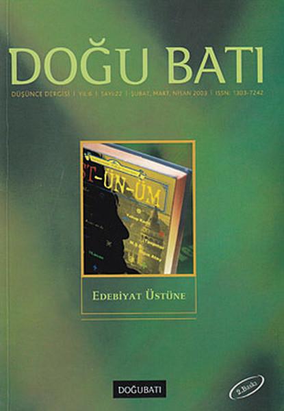 Doğu Batı Düşünce Dergisi Sayı: 22 - Edebiyat Üstüne.pdf