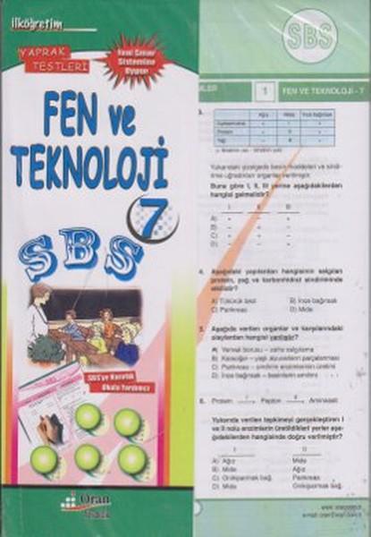 SBS İlk Öğretim 7 Fen ve Teknoloji Yaprak Testleri.pdf