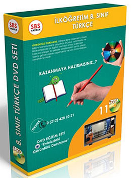 SBS 8. Sınıf Türkçe Görüntülü DVD Seti (11 DVD).pdf
