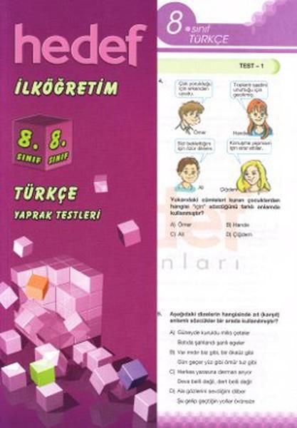 İlköğretim 8. Sınıf Türkçe Yaprak Testleri.pdf